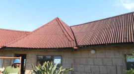 Onduline roof - oversheeting, eastern cape, south africa