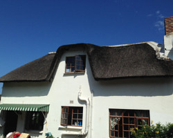 Original thatched roof