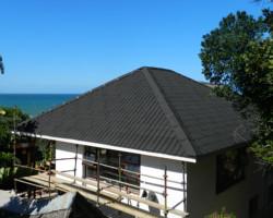 Onduvilla Roofing Onduvilla Tiles Applied To Thatch Roof