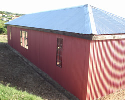 Zinc Roofing, Eastern Cape, South Africa