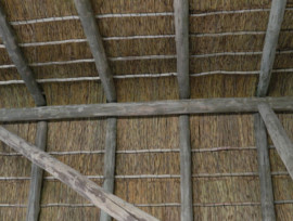 Goegap thatching project - conference centre thatched roofs