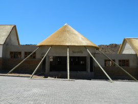 Goegap thatching project - thatched rondavel conference centre