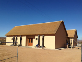 Goegap thatching project reception area