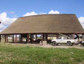 Eastern Cape Thatching Project - thatched conference centre