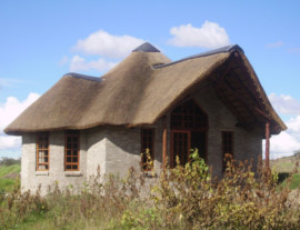 Eastern Cape Thatching Project - the main house