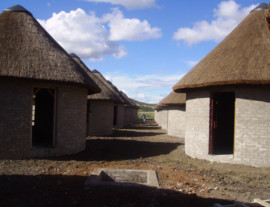 Eastern Cape Thatching Project - thatched accommodation units