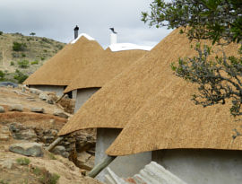 Thatched lodge, eastern cape thatching company