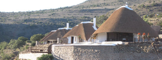 Side by Side Safari thatching project, Eastern Cape, South Africa