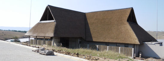Mthatha Dam Conference Centre Thatching Project