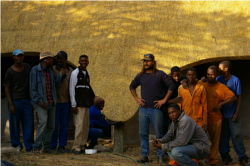 The Cintsa Thatching Team